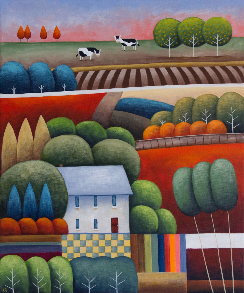 Summer House No.3 20x24 inches
